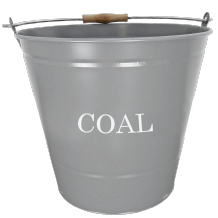Coal Bucket - Grey